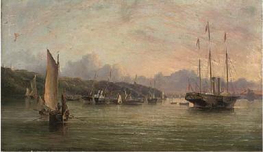 The flotilla of Royal Yachts l