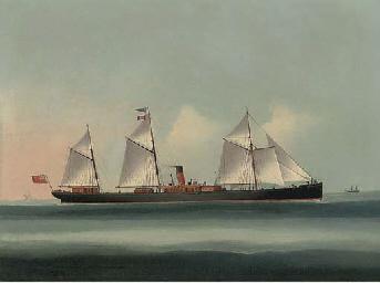 S.S. Glenfruin at sea