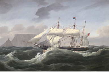 The barque Spinning Jenny unde