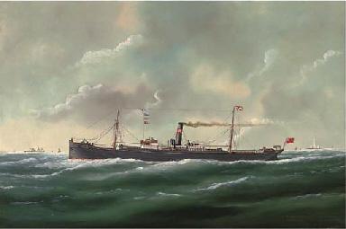The general cargo steamer Agen