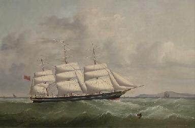 The British Peer outward bound