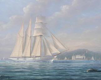 Lord Brassey's steam yacht Sun