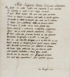 LEOPARDI, Giacomo (1798-1837).