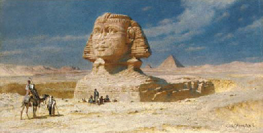 The sphinx of Geezah