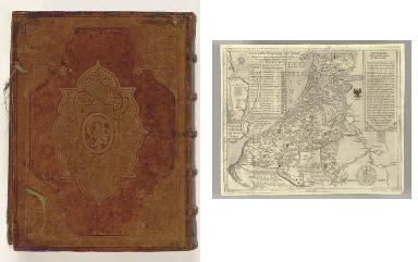 AITZING, Michael von (1530-98, Freiherr). Novus de Leone Belgico eiusque topographica atque historica descriptione liber. Cologne: Gerhard Kempen for Franz Hogenberg, [1596].