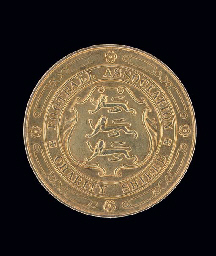 A 9CT GOLD 1929-30 CHARITY SHI