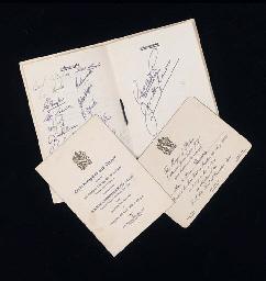 A MENU CARD TO CELEBRATE BOLTO