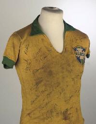 A YELLOW BRAZIL V. ENGLAND INT