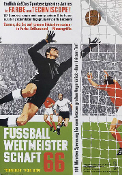 A 1966 WORLD CUP FILM POSTER