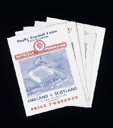 ENGLAND & WALES V. SCOTLAND &