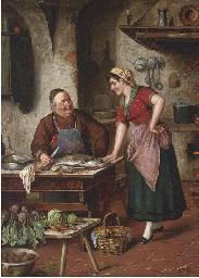 Discussing the recipe