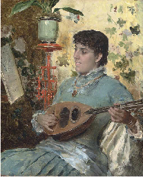 A tune on the lute