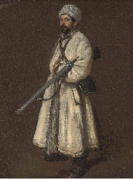 A Russian huntsman