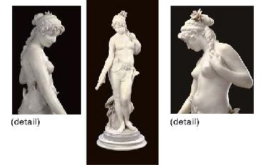 A fine Italian marble figure o