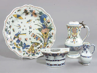ENSEMBLE EN FAIENCE FRANCAISE