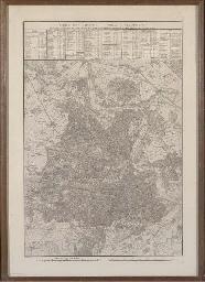 Carte des chasses du Roi à Fon
