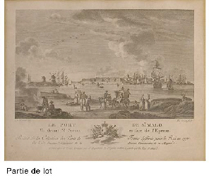 Vues de Ports français par Yve