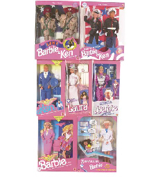 Career Barbie, 1980/90s