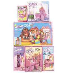 Barbie furniture 1980/90s