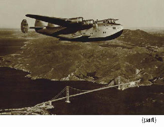 SEAPLANE PHOTOGRAPH FROM CAPTAIN ARCHER'S QUARTERS
