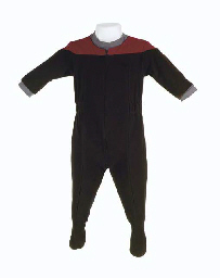 BABY Q STARFLEET UNIFORMS