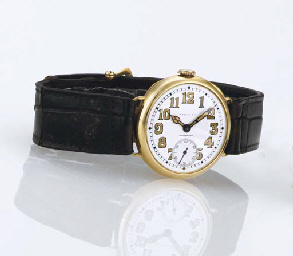 PATEK PHILIPPE. A RARE EARLY 1