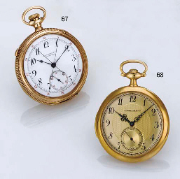 TOUCHON. A THIN 18K GOLD OPENF
