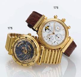 IWC. A FINE 18K GOLD AUTOMATIC
