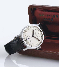 PATEK PHILIPPE. A RARE STAINLE