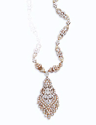 A DIAMOND NECKLACE AND