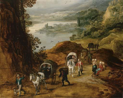 Joos de momper the younger 1564 1635 прекрасные дали