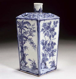A Japanese blue and white tokk
