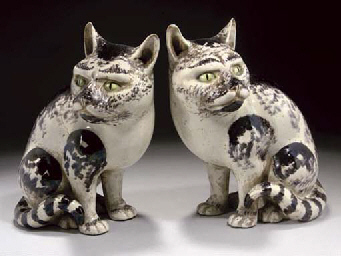 A Pair of Japanese glazed pott
