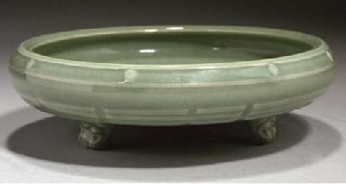 A Chinese 'Longquan' celadon g
