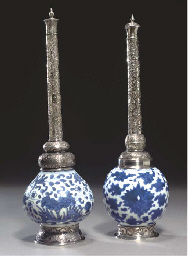 TWO KANGXI ISLAMIC MARKET BLUE