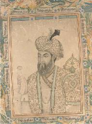 A MUGHAL EMPEROR, DELHI, 19TH