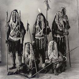 Bena Family, New Guinea, 1970