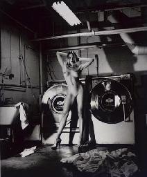 Domestic Nude III, in the Laun