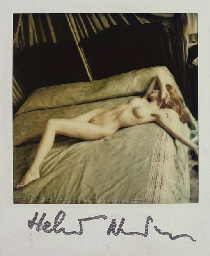 Nude on bed, c.1980