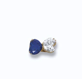 A DIAMOND AND SAPPHIRE 'TOI ET