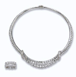 A DIAMOND NECKLACE AND ETERNIT