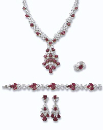 A RUBY AND DIAMOND SUITE