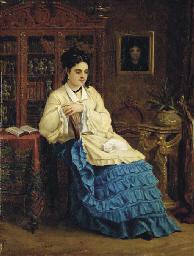 PAUL DESIRE TROUILLEBERT (PARIS 1829 - 1900)