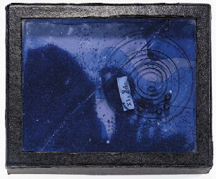 Untitled (Blue Sand Box with S