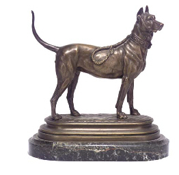A FRENCH BRONZE MODEL OF A BUL