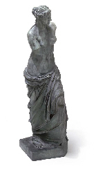 A FRENCH BRONZE MODEL OF THE V