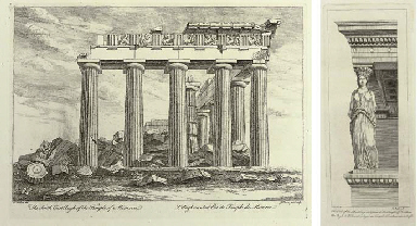DALTON, Richard (c.1715-1791). Antiquities and Views in Greece and Egypt...