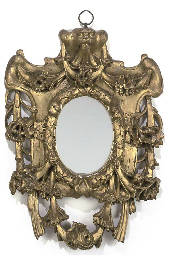 A CONTINENTAL GILTWOOD AND GES