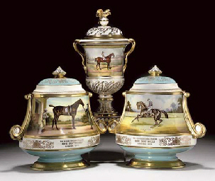 A PAIR OF AYNSLEY COMMEMORATIV