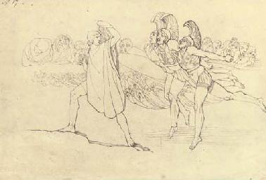 Illustration to Homer's Odysse